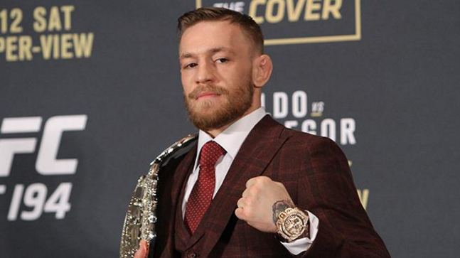 Conor McGregor UFC 194 press conference