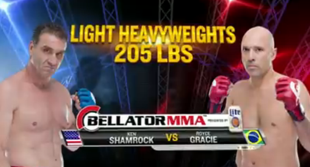 gracie vs shamrock 3