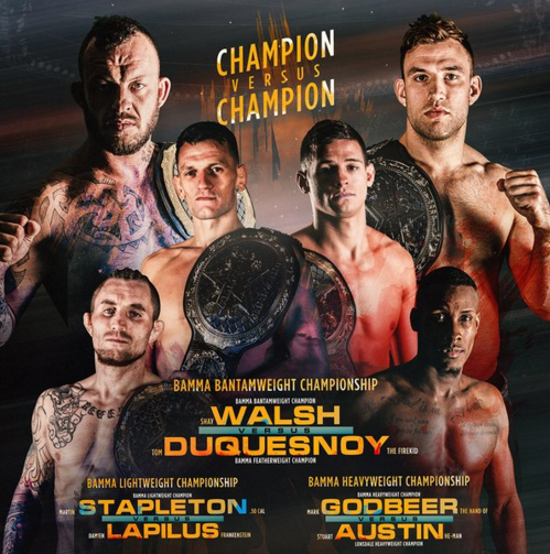 Cage Warriors Live Stream Free: Bamma 25