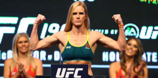 Holm weigh ins