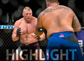 Lesnar vs Hunt UFC 200