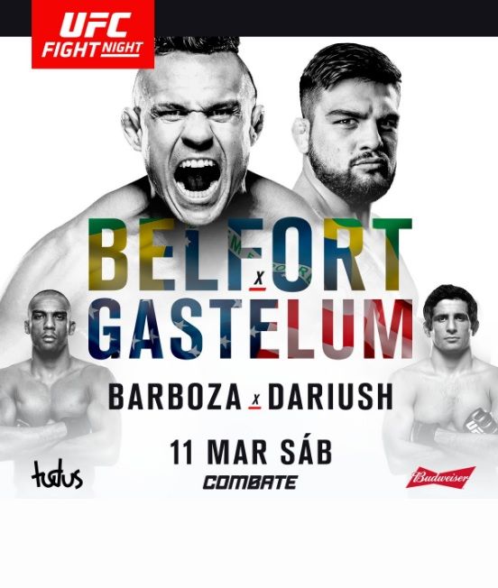 Cage Warriors Live Stream Free: Ufn Fortaleza Poster