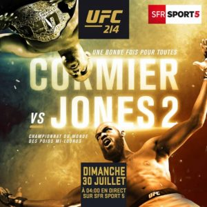 ufc 214 cormier vs jones 2 live stream et r sultats cette nuit d s 1h00 fr. Black Bedroom Furniture Sets. Home Design Ideas