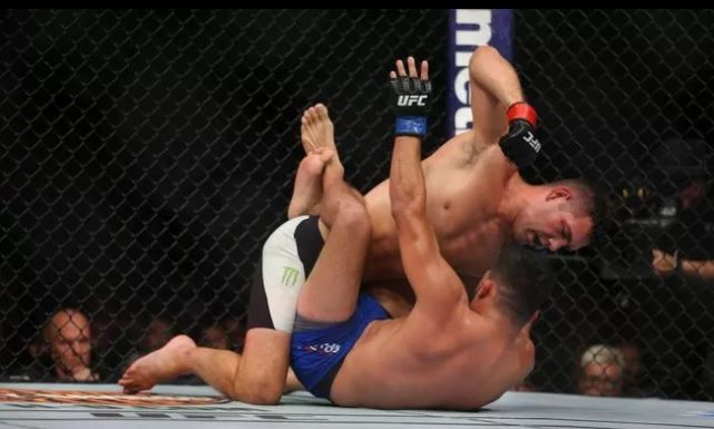 weidman ufc on fox 25