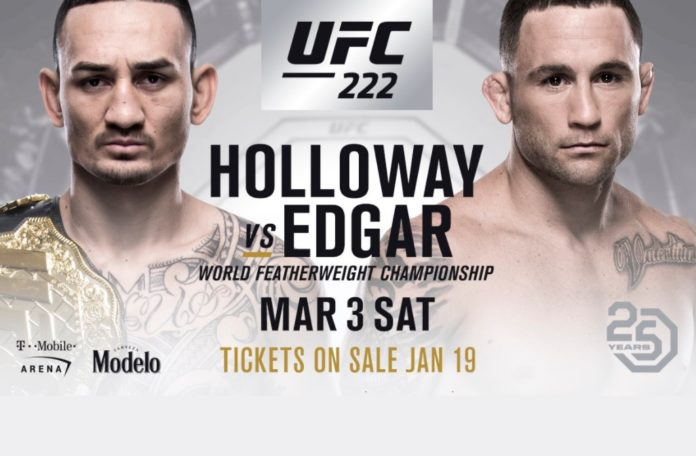 holloway ufc 222 edgar