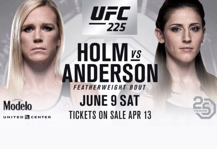 holly holm anderson