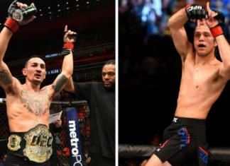 max holloway brian ortega on