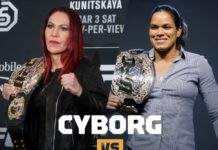 cris cyborg nunes on