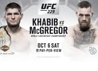 khabib nurmagomedov vs McGregor on