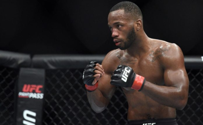 leon edwards out chimaev